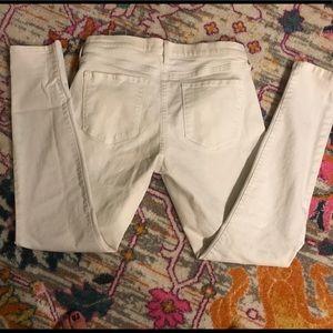 White Banana Republic Denim skinny Jeans